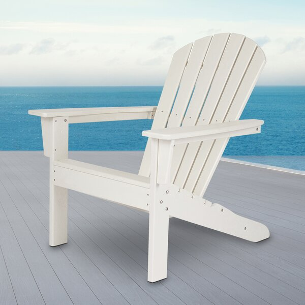 Barrett Plastic/Resin Adirondack Chair by Bay Isle Home Bay Isle Home
