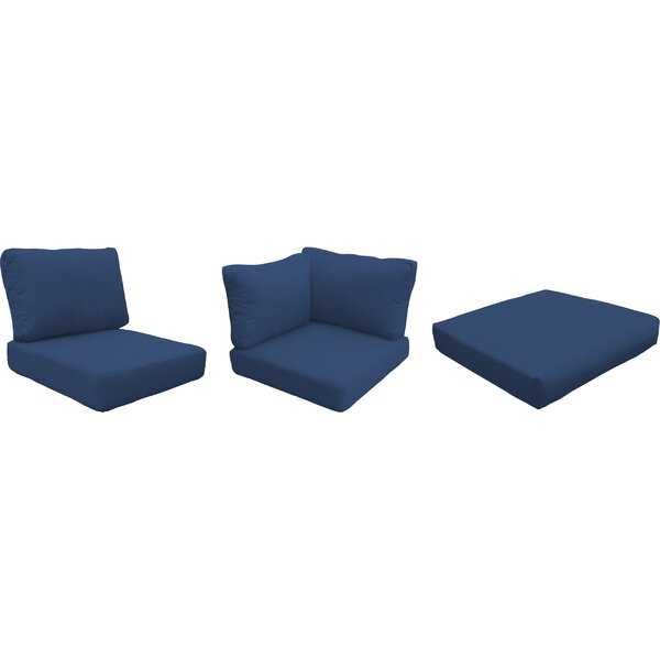 Waterbury Outdoor 18 Piece Lounge Chair Cushion Set by Sol 72 Outdoor Sol 72 Outdoor