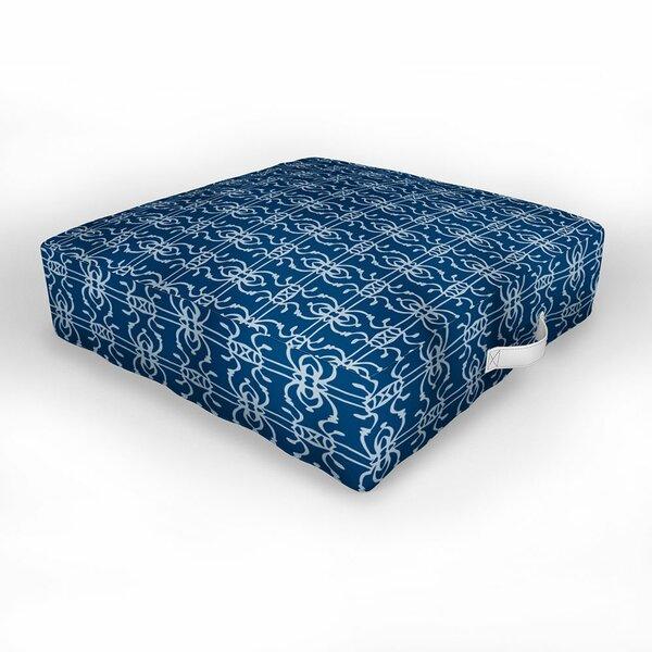 Indoor / Outdoor Geometric Floor Pillow