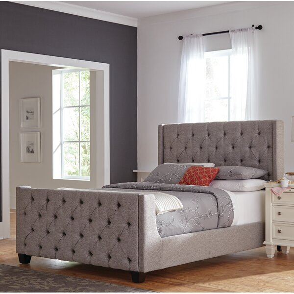 Albee Upholstered Standard Bed by Red Barrel Studio
