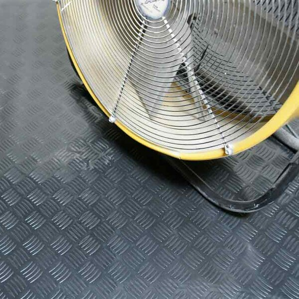 Diamond-Grip Resilient Flooring Mat Roll by Rubber-Cal, Inc.