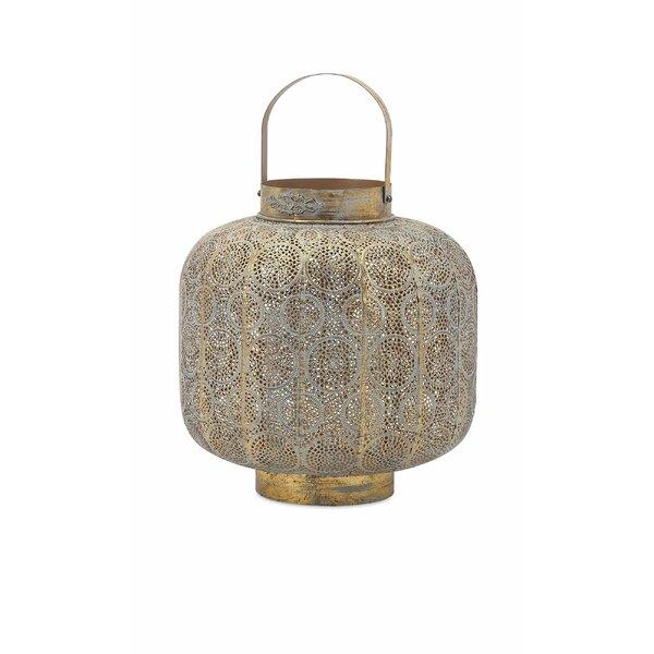 Transcendental Small Pierced Lantern by Bungalow Rose