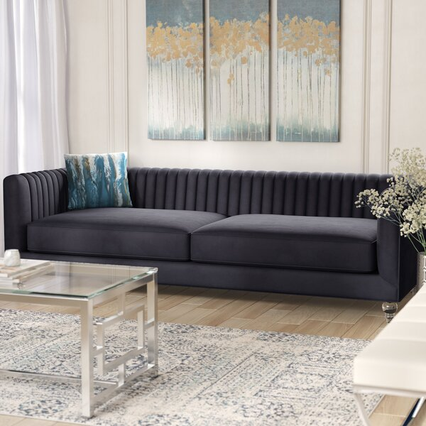 Modern Collection Whitner Sofa by Willa Arlo Interiors by Willa Arlo Interiors