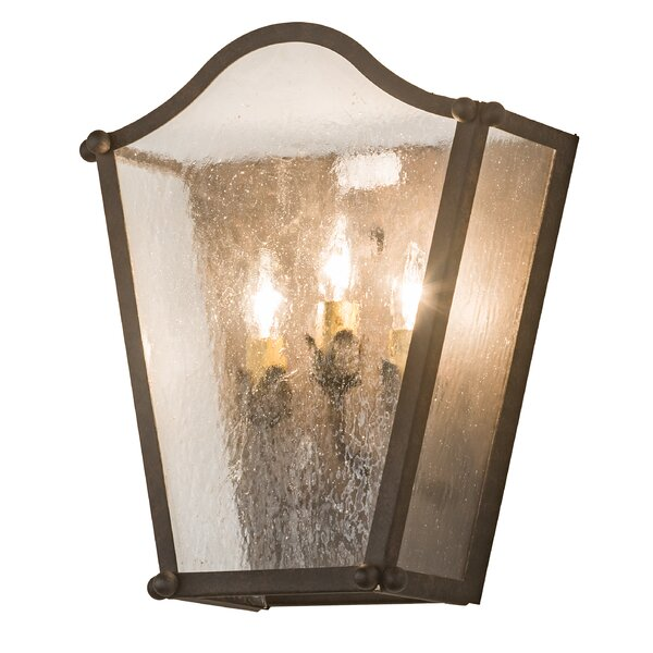 Valleystone 3-Light Outdoor Flush Mount by Canora Grey