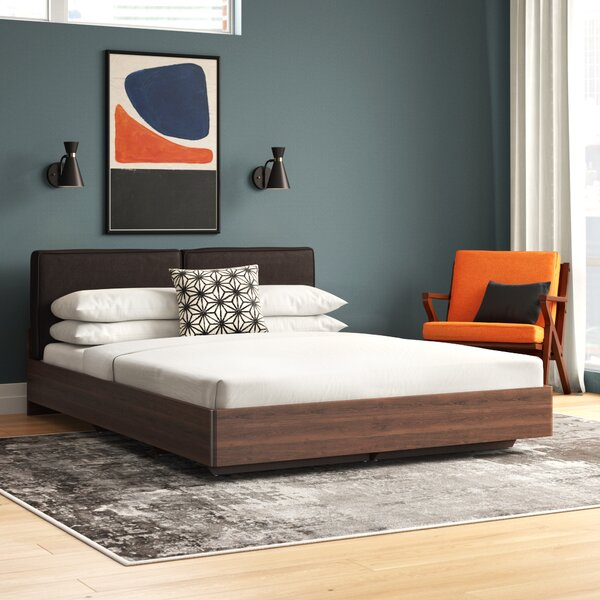 Beedle Queen Upholstered Platform Bed by Ivy Bronx