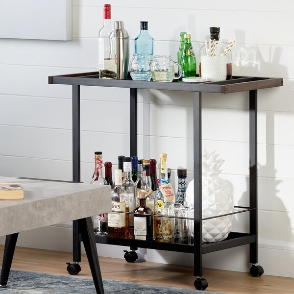 City Life Bar Cart by South Shore South Shore