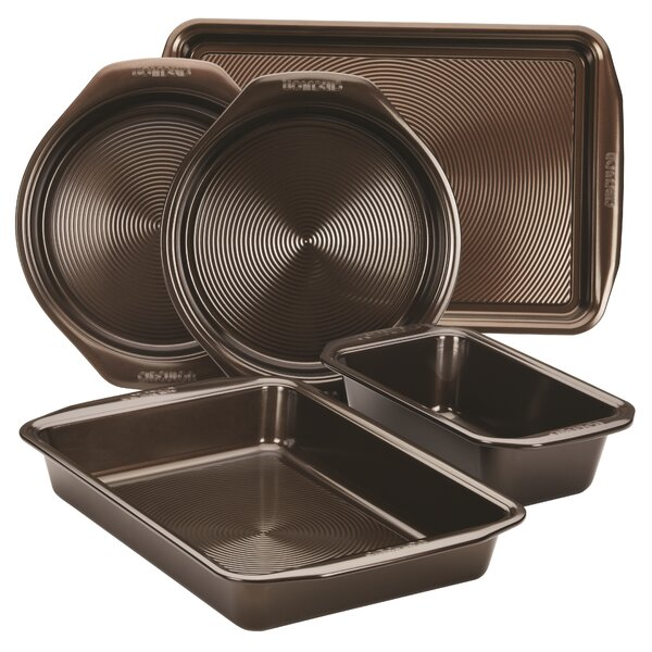 Non-Stick 5 Piece Bakeware Set by Circulon