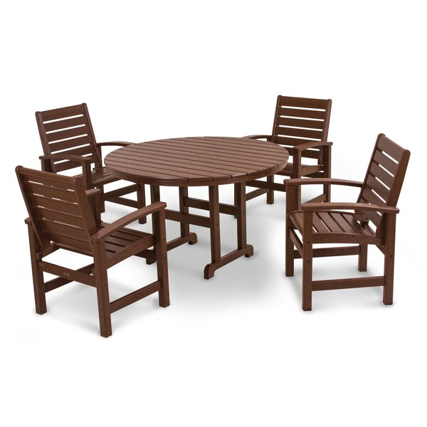 Signature 5 Piece Dining Set by POLYWOOD®