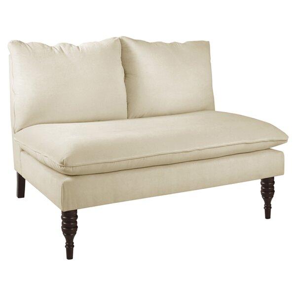 Caroline Settee by Skyline Furniture