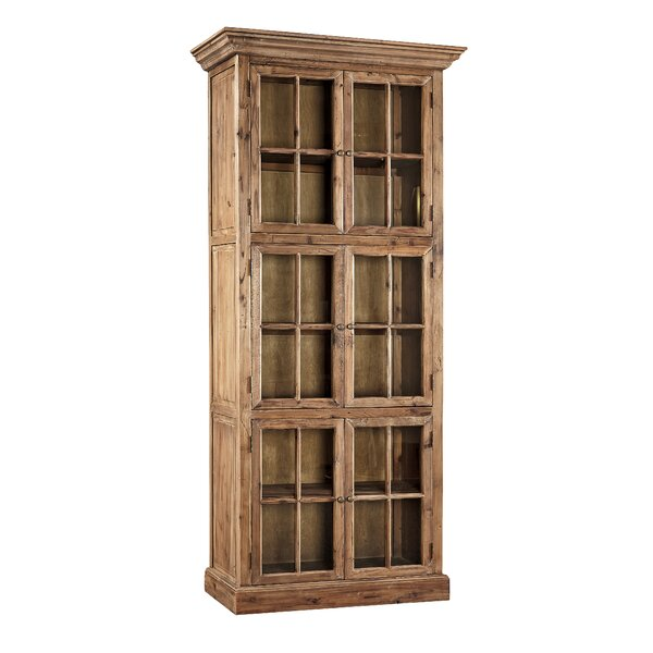 Fir Single Stack Standard Bookcase by Furniture Classics