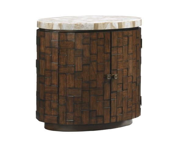Island Fusion Banyan End Table by Tommy Bahama Home