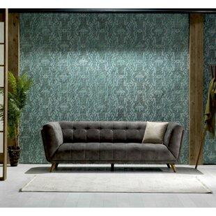 Danos Nubuck Chesterfield Sofa