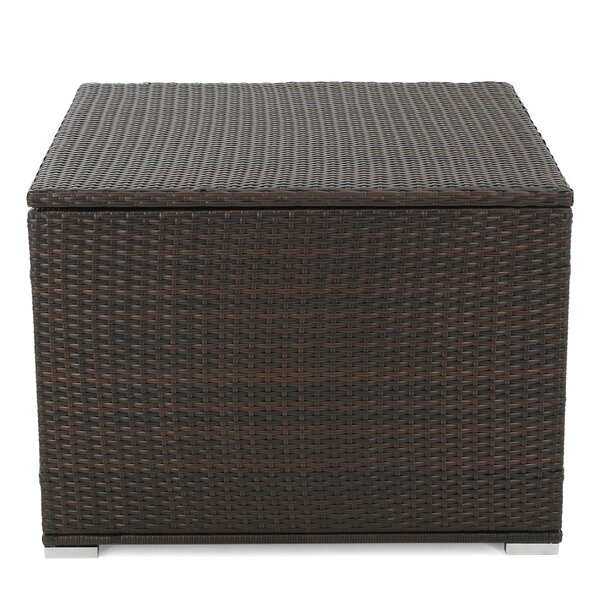 Benbow 70 Gallon Wicker Deck Box by Mercury Row Mercury Row