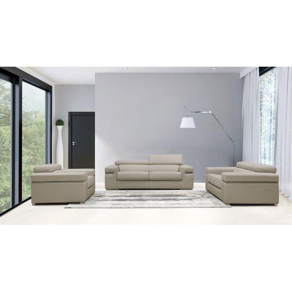 Cana 3 Piece Living Room Set by Orren Ellis