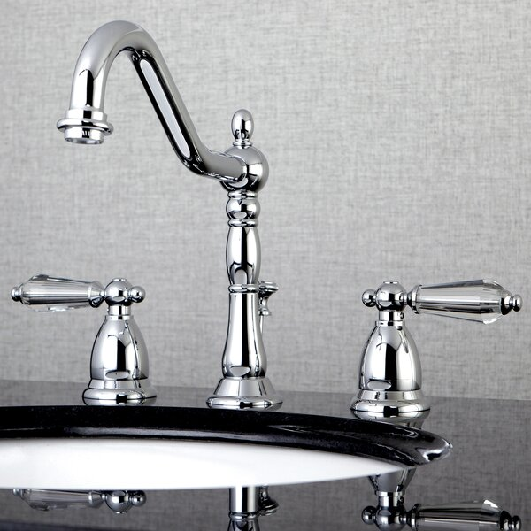 Wilshire Widespread Bathroom Faucet with Drain Assembly by Kingston Brass
