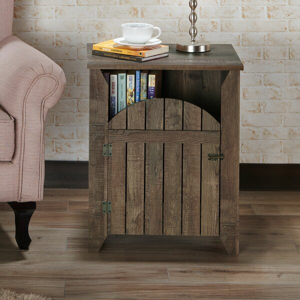 Coomer Rustic End Table By August Grove