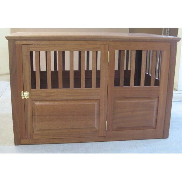 Solid Wood Pet Crate by Classic Pet Beds