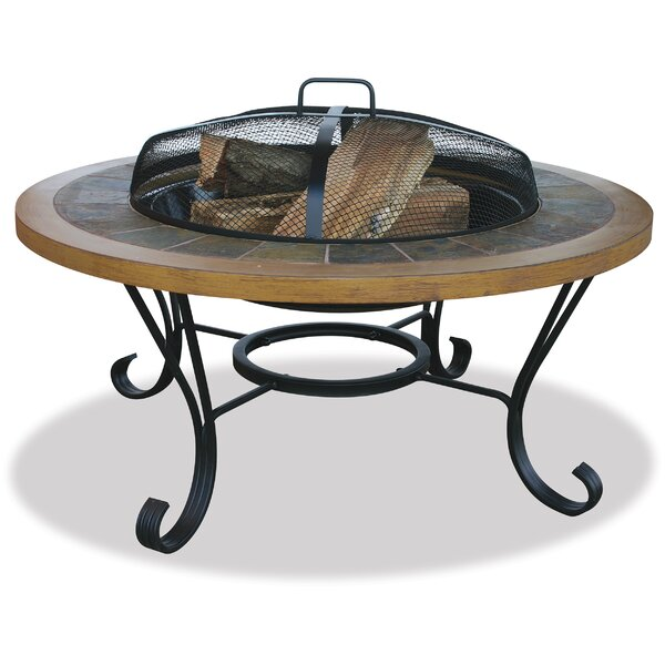 Steel Wood Burning Fire Pit by Uniflame Corporation
