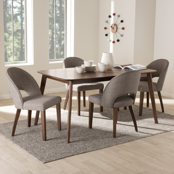 Dall 5 Piece Dining Set By Corrigan Studio Great price
