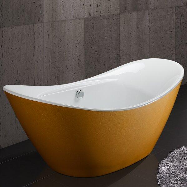 67 x 30.31 Soaking Bathtub by AKDY