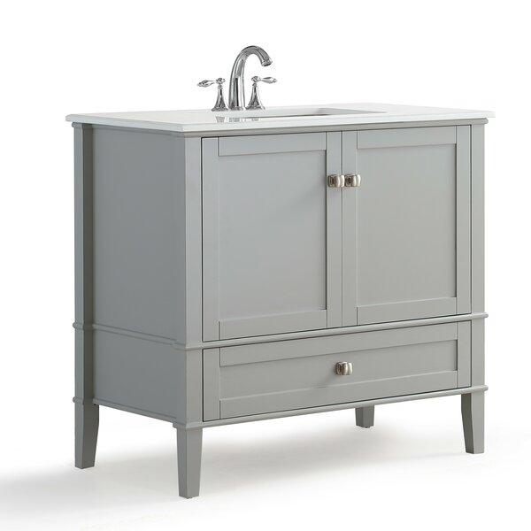 Chelsea 37 Single Bathroom Vanity Set by Simpli HomeChelsea 37 Single Bathroom Vanity Set by Simpli Home