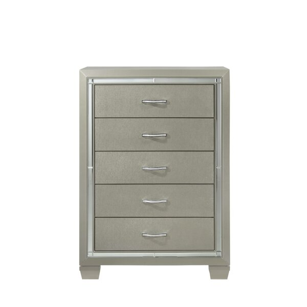 Quattlebaum 5 Drawer Chest by Harriet Bee