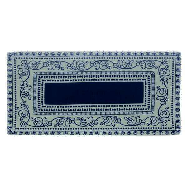 Blue Antico Rectangular Platter by Maxwell & Williams