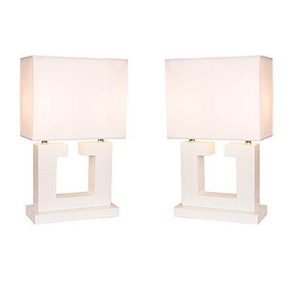 Erika Couples 27 Table Lamp (Set of 2) by Red Barrel Studio