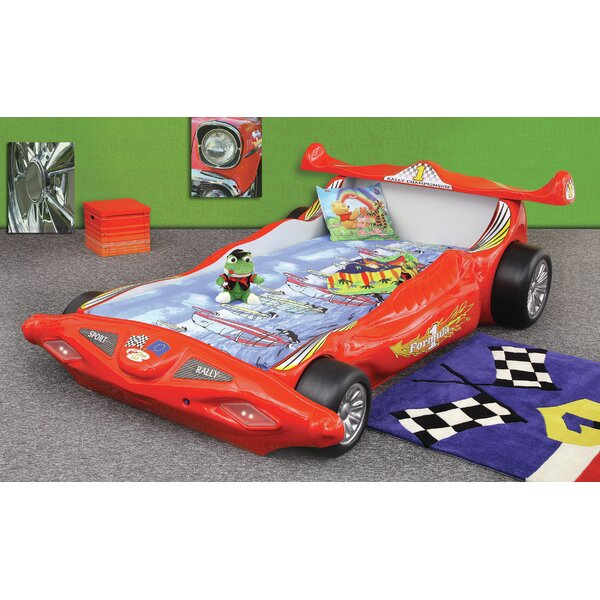 Polak Toddler Car Bed with Mattress by Zoomie Kids