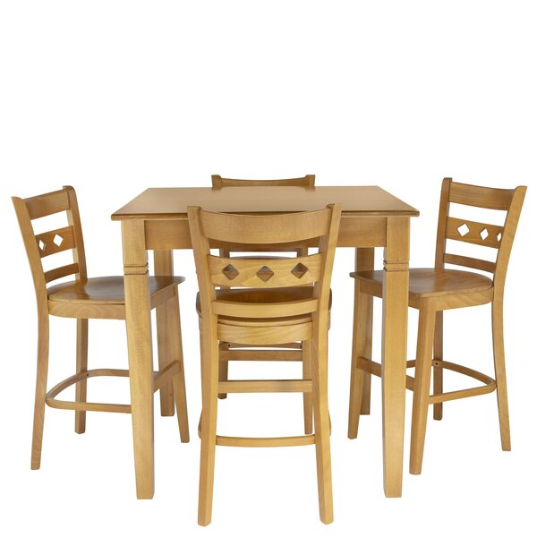 Weinstock 5 Piece Pub Table Set by Red Barrel Studio
