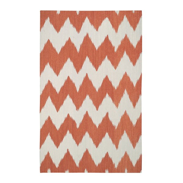 Insignia Orange Area Rug by Genevieve Gorder Rugs