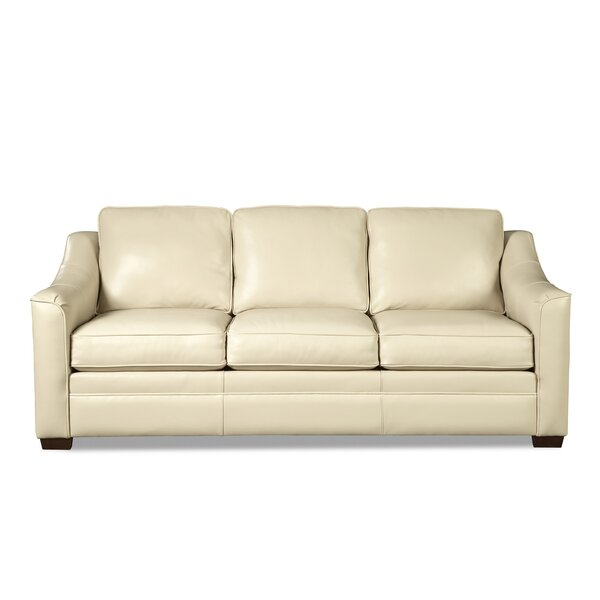 Great Value Parkview Leather Sofa by Westland and Birch by Westland and Birch