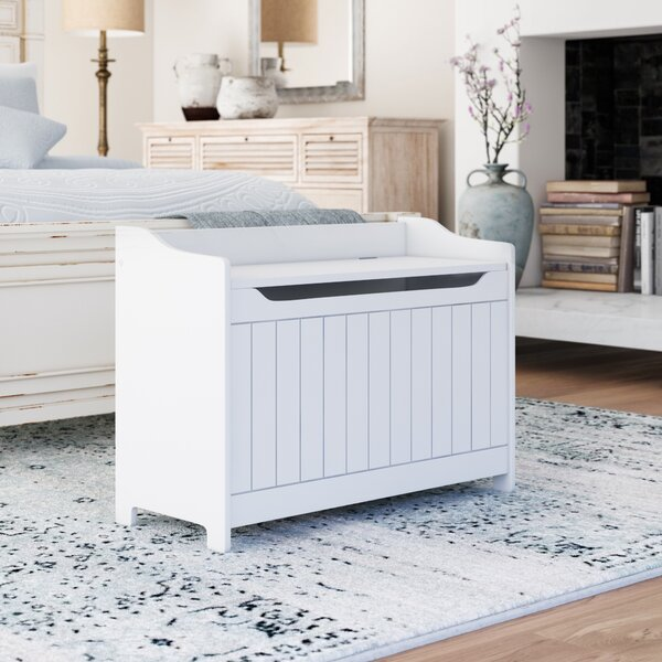 Allie Storage MDF Storage Bench by August Grove