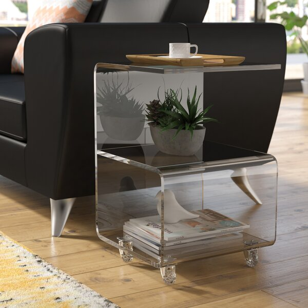 Caylee End Table By Wade Logan