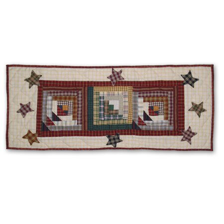 Woodland Star And Geese Table Runner by Patch Magic