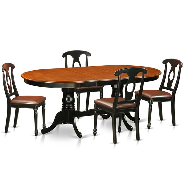 Pilning Modern 5 Piece Dining Set by August Grove