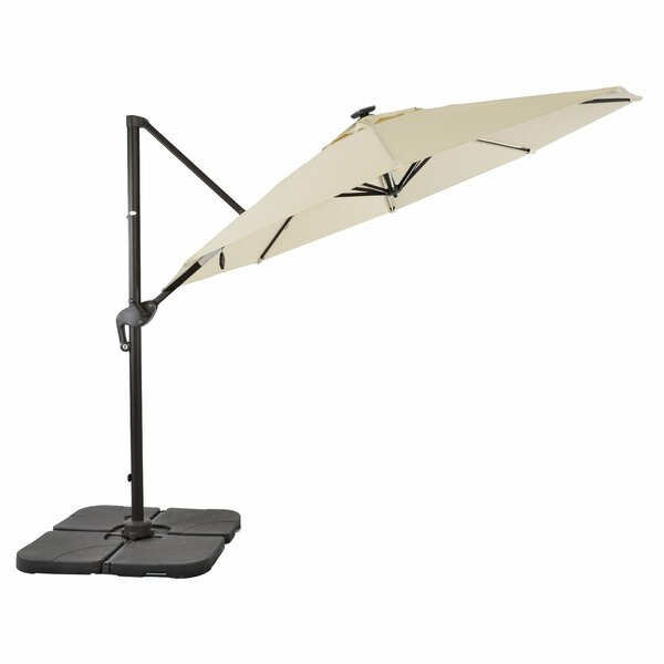 Norita Lch 10' Offset Cantilever Umbrella by Freeport Park Freeport Park