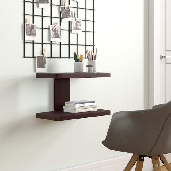 Aeliana Wooden Floating Shelf by Latitude Run