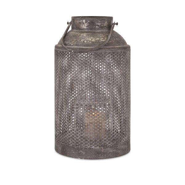 Vibrant Metal Lantern by Gracie Oaks
