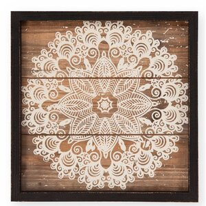 Printed Lacy Framed Graphic Art by Foreside Home & Garden