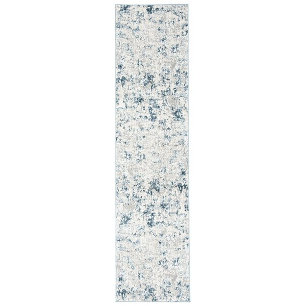 Dyllan Beige/Turquoise Area Rug by Williston Forge