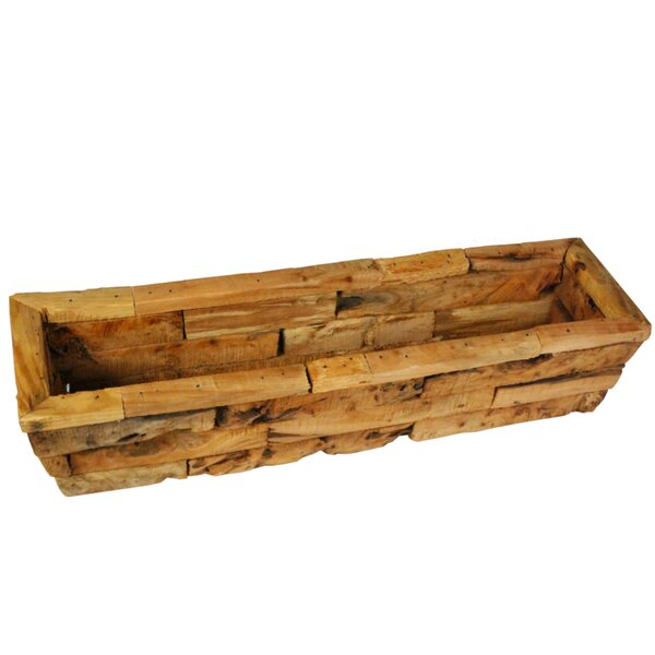 Largent Rectangular Wooden Planter Box by Union Rustic