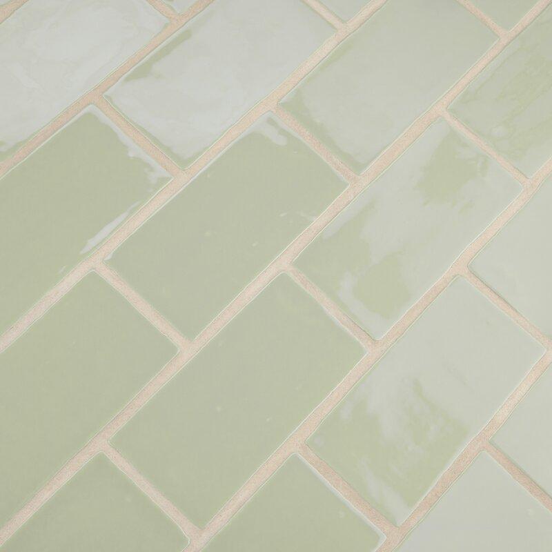 "Tivoli 3"" x 6"" Ceramic Subway Tile"
