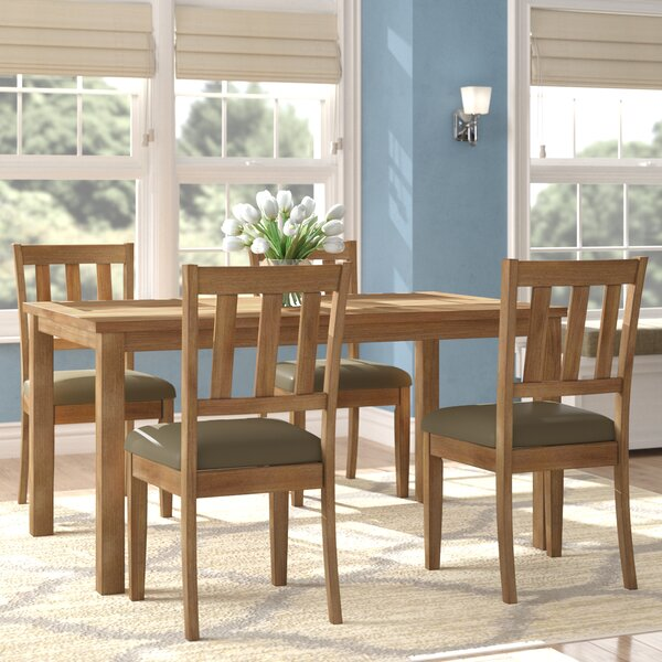 Zebulon 5 Piece Dining Set by Andover Mills