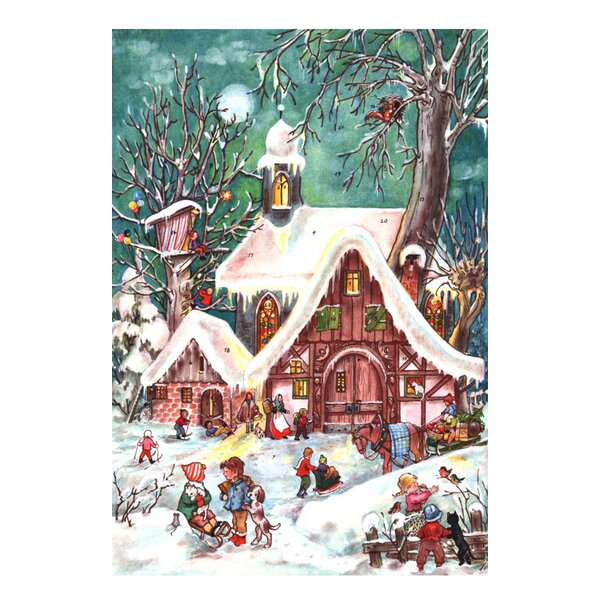 Sellmer Small Alpine Village Advent Calendar by The Holiday Aisle