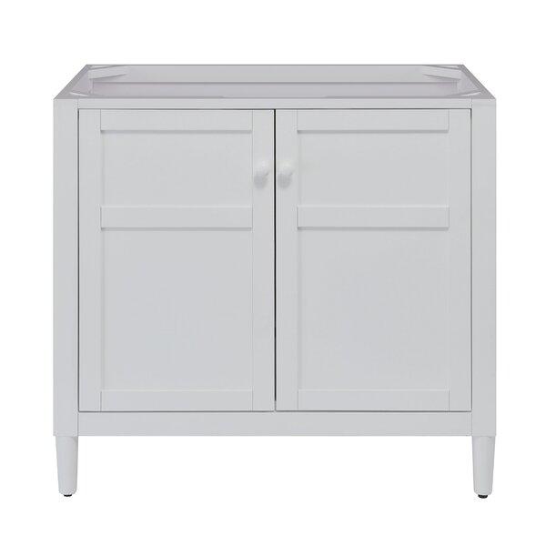 Turner 36 Free-standing Single Bathroom Vanity Base Only in White