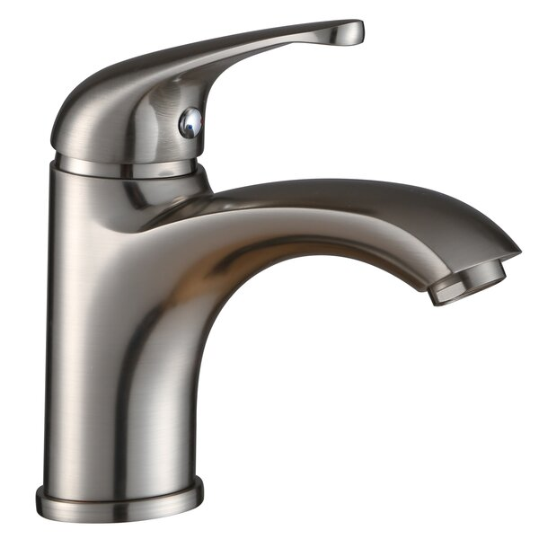 Bathroom Faucet with Edged Spout by Elite