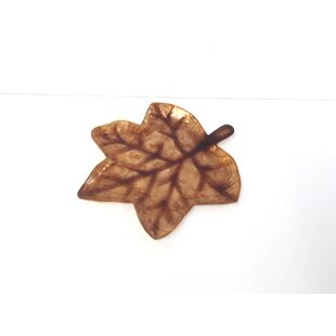 Read Reviews Capiz 5-Finger Fall Leaf Tray By Dekorasyon Gifts & Decor