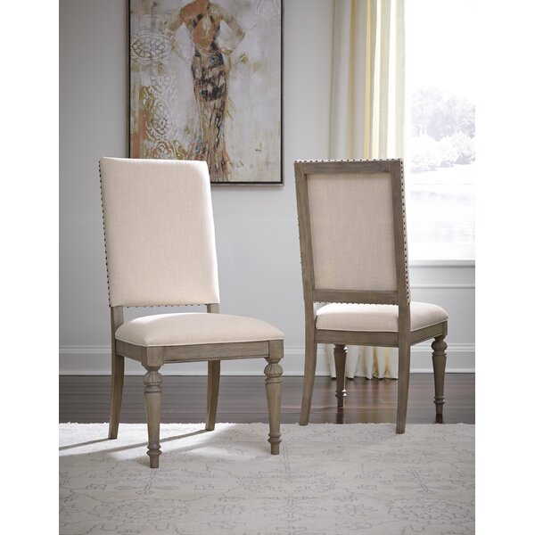 Bonham Upholstered Dining Chair (Set of 2) by Darby Home Co