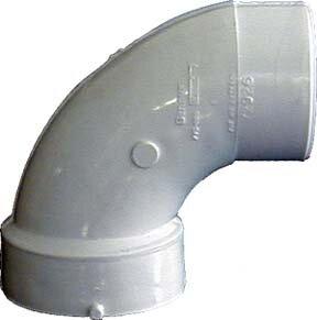 Sch. 40 PVC-DWV 90 Sanitary Elbows by GenovaProducts